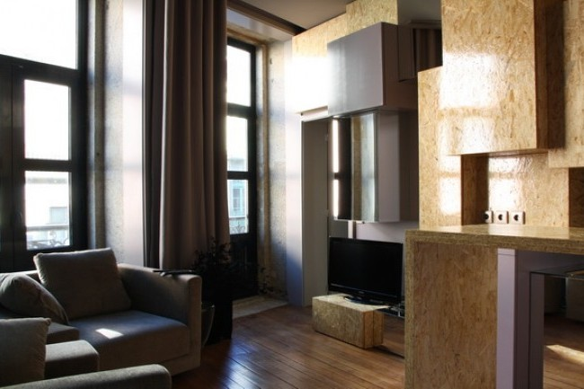 Uniquely designed one bedroom apartment in central Porto with ...